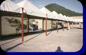 Tendas para Eventos, Tendas para Armazenamento, Tendas para Canteiro de Obra, Tendas para locação
